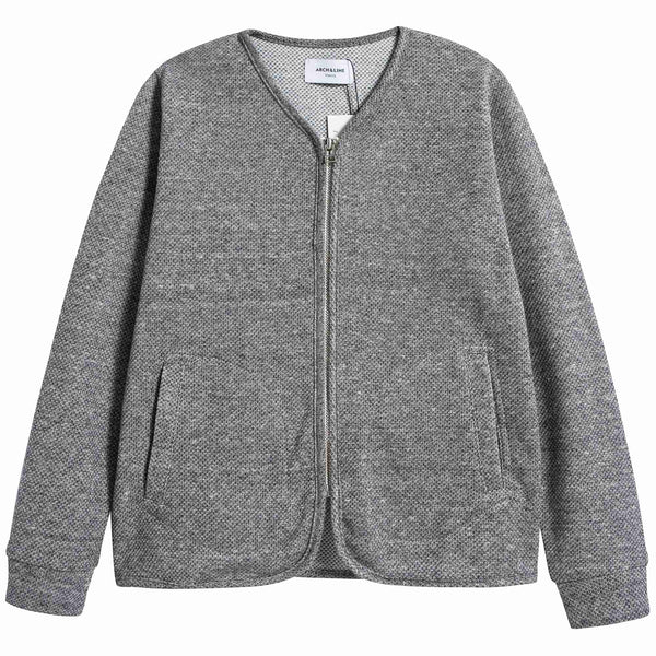 Boys & Girls Grey Zip Cardigan