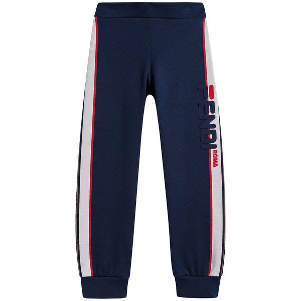 Boys & Girls Blue Trousers