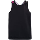 Girls Black Tank Vest