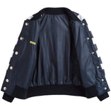 Boys Blue Jacket With Bottons