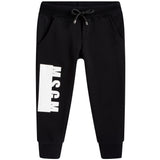 Boys Black Tracksuit Trousers