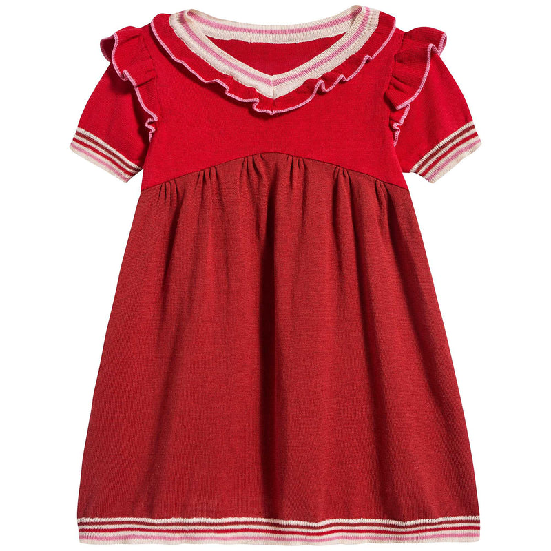 Baby Girls Berry Cotton Dress