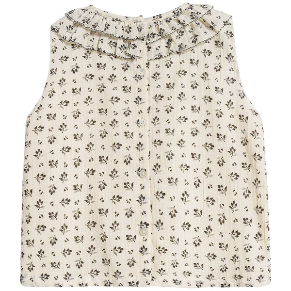 Baby Girls Ditsy Clover Print Top