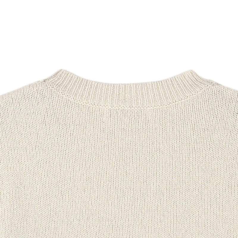 Boys & Girls Ivory Knitted Sweater