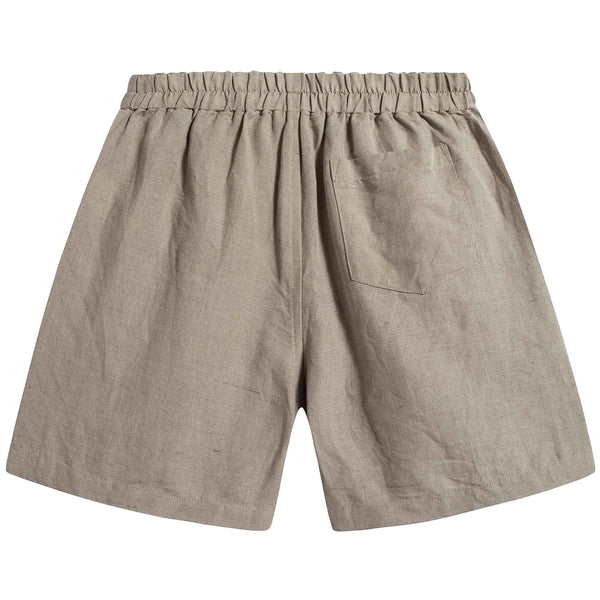 Boys & Girls Brown Linen Short