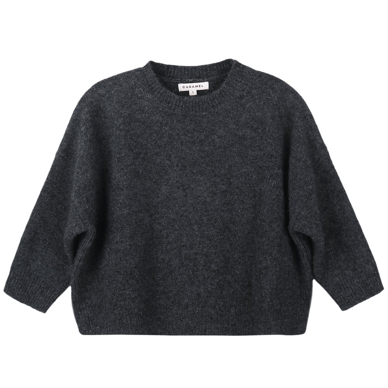 Boys & Girls Grey Knitted Sweater