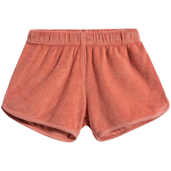 Boys and Girls Coral Cotton Shorts