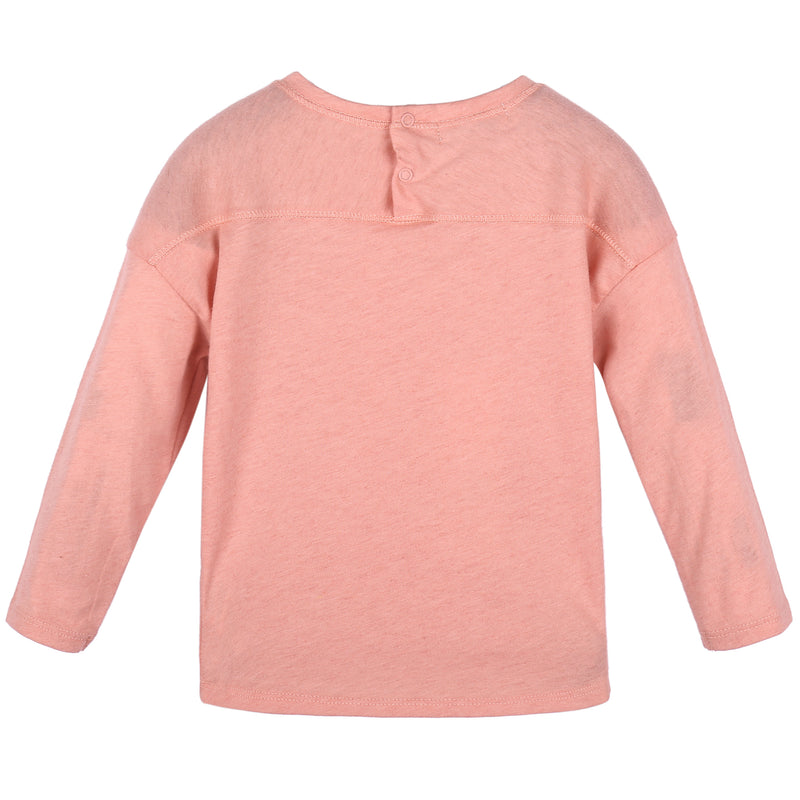 Baby Coral Pink Jersey Top