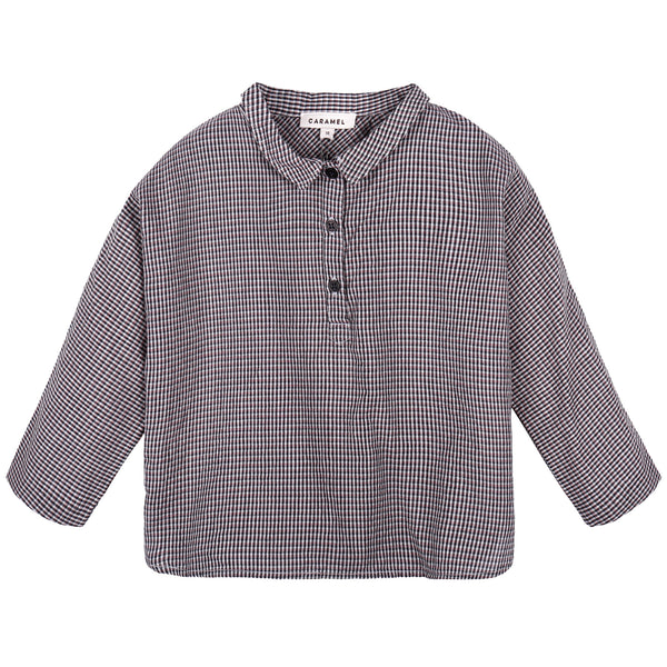 Baby Boys Grey Striped Shirt