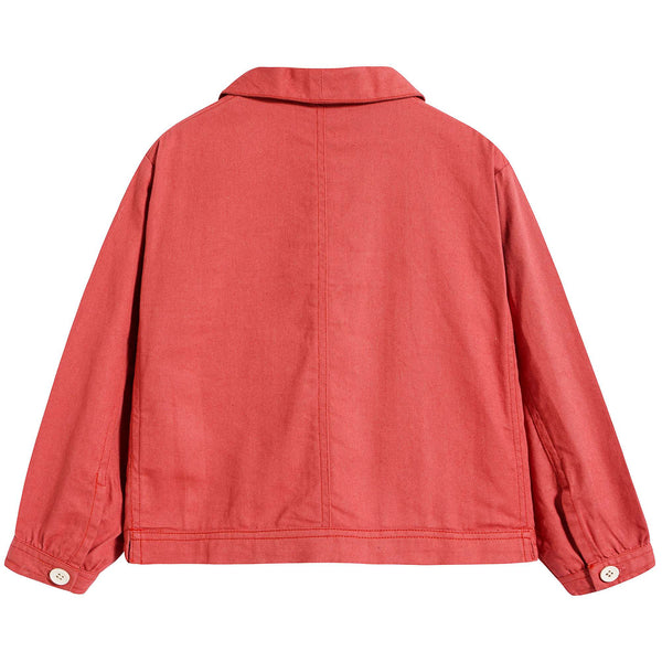 Boys Red Cotton Jacket