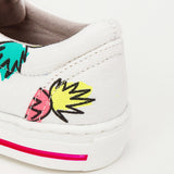 Boys & Girls Pineapple Print Rooster Shoes