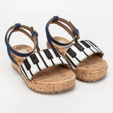 Girls Piano Linda Sandals