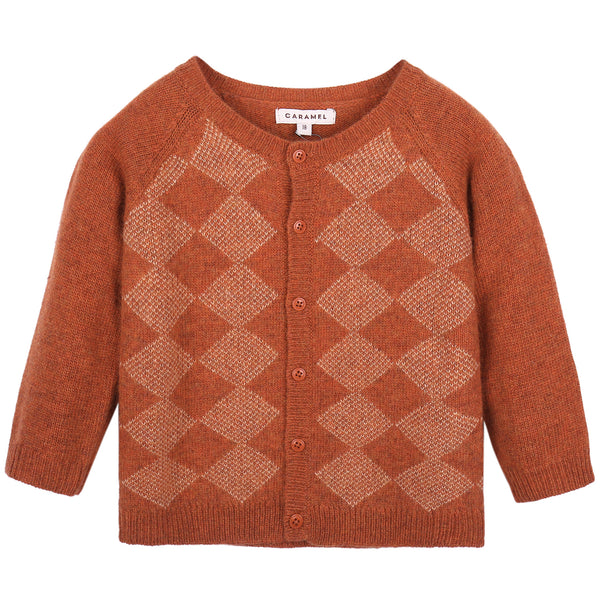Baby  Red Canyon Knitted Cardigan