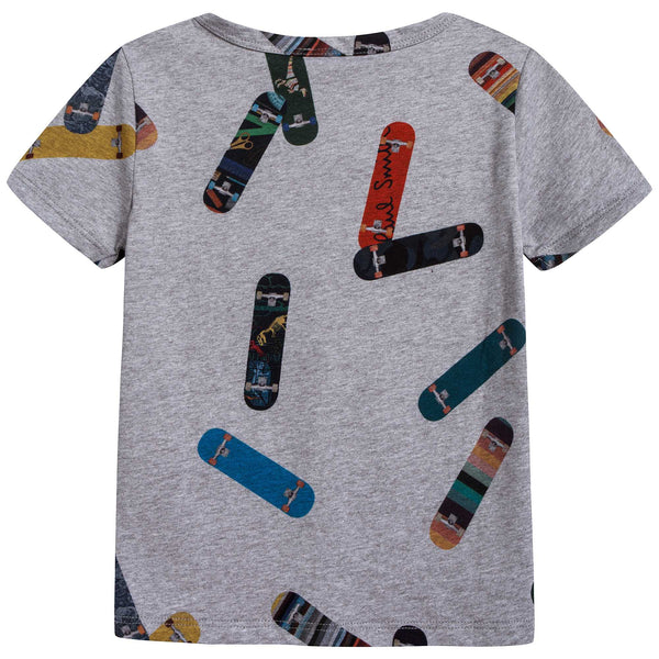 Boys Marl Boys Cotton T-shirt