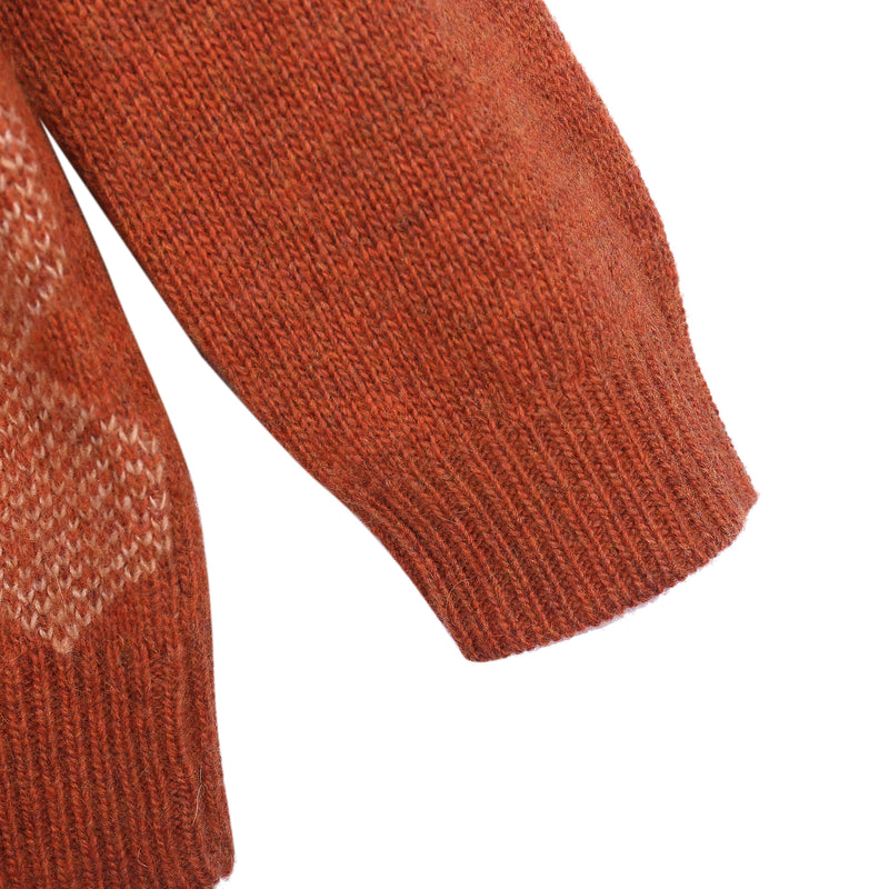 Boys Girls Red Canyon Knitted Sweater
