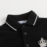 Baby Boys Navy Blue Polo Shirt