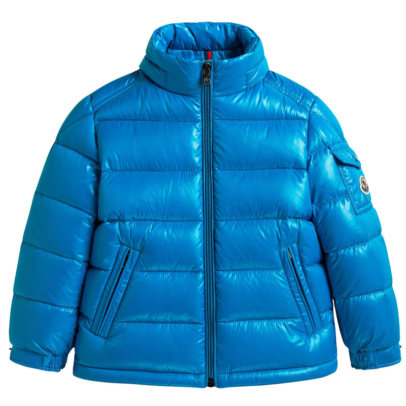 "Boys Sky Blue ""New Maya"" Down Padded Jacket"