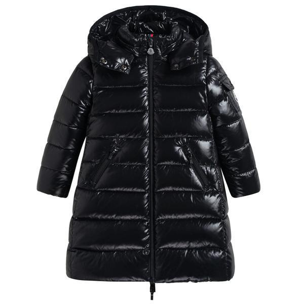 "Girls Black ""MOKA""Padded Down Coat"