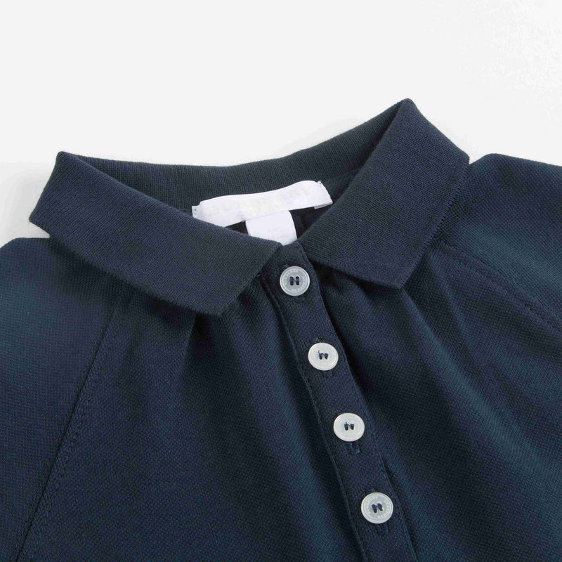 Girls Navy Blue Polo Dress