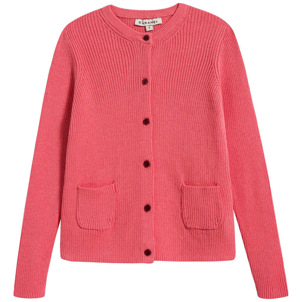 Girls Candy Cotton Zenobia Cardigan