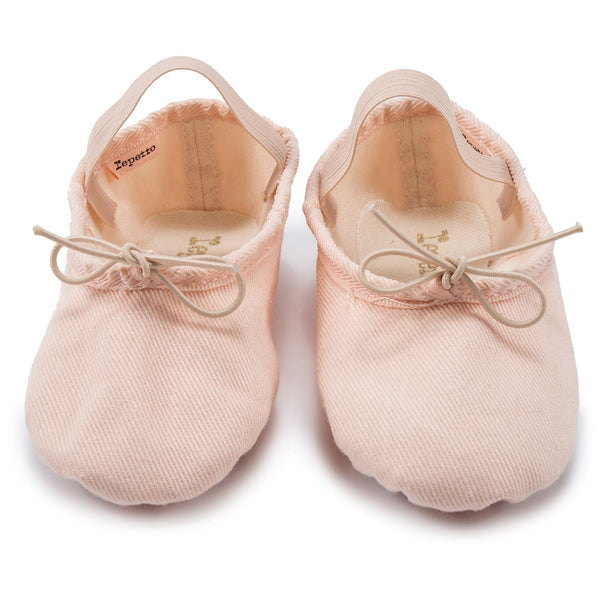 Girls Beige Dessus Cotton Shoes