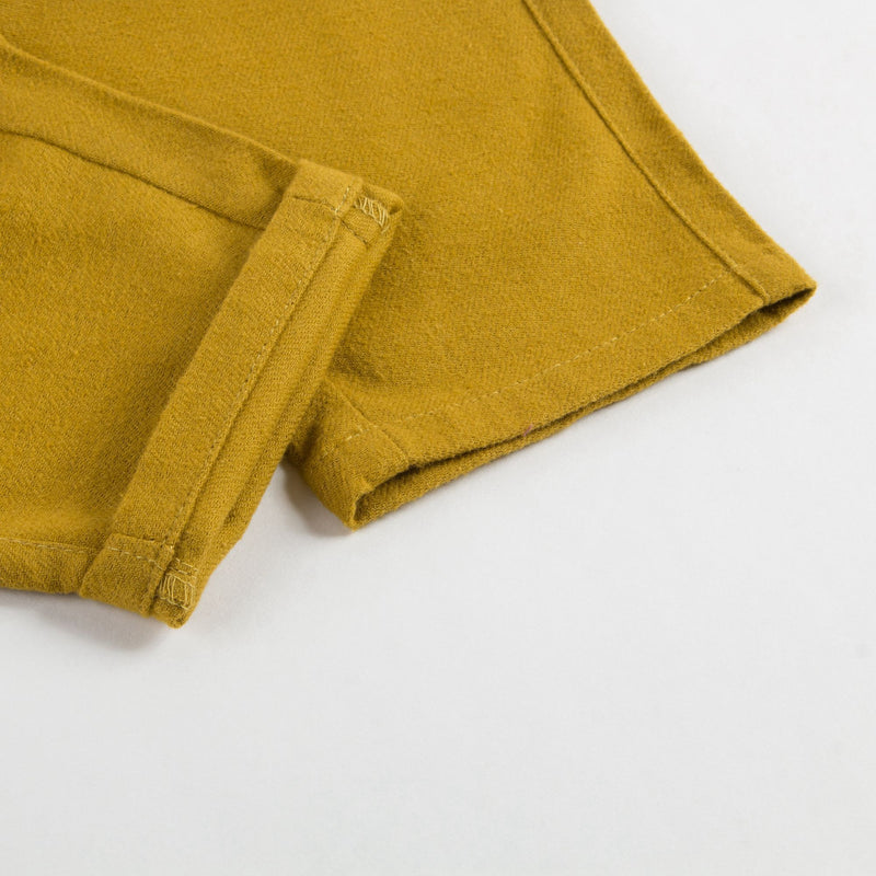 Baby Yellow Cotton Trousers