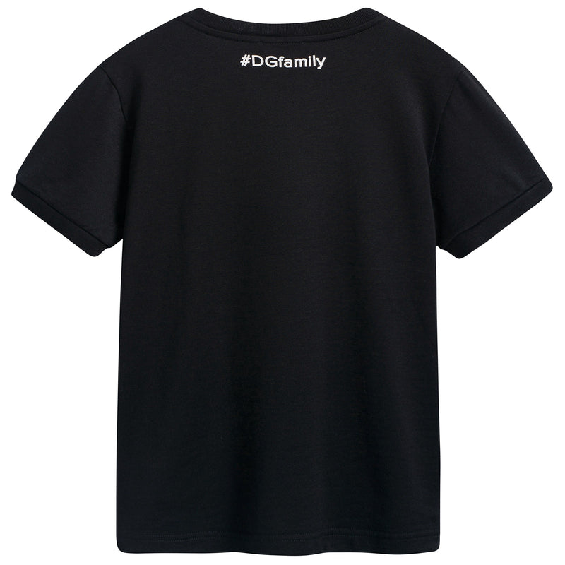 "Girls & Boys Black ""DG"" T-shirt"