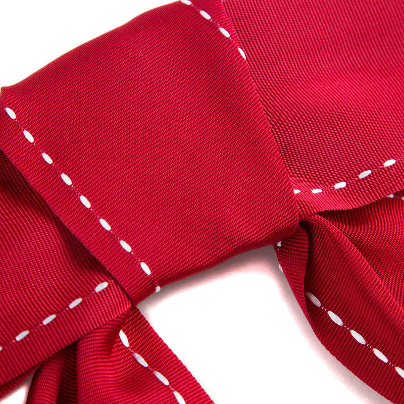 Girls Red 'Back to school' Bow Tie