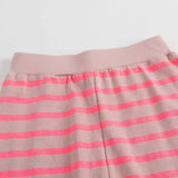 Baby Girls Pink Striped Trousers