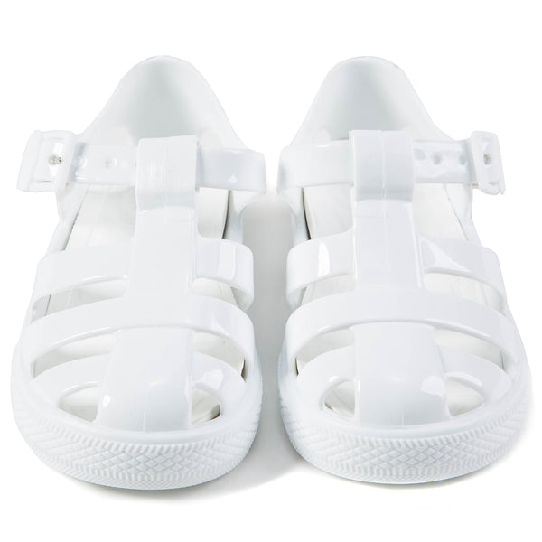 Boys &  Girls  White   Sandal