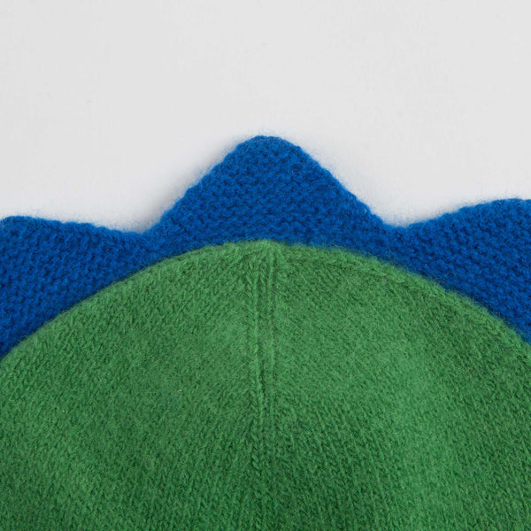Baby Boys Green Apple Wool Hat