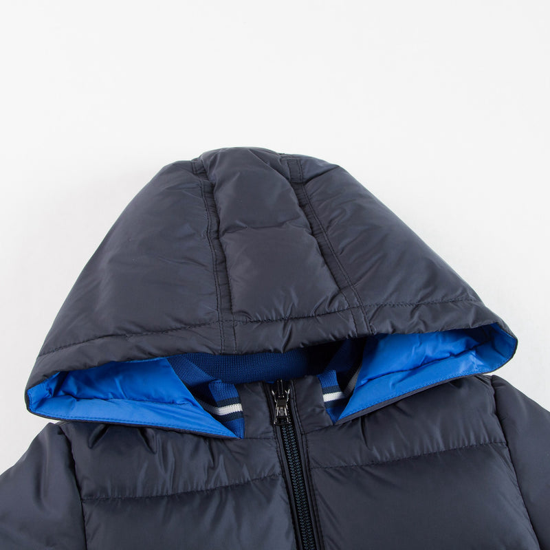 Baby Boys Navy Blue 'Stefan' Down Padded Jacket