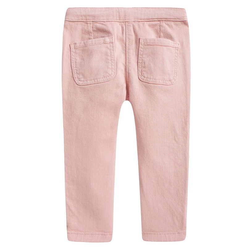 Girls Pink Braided Trousers