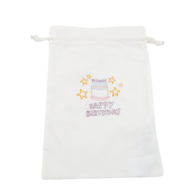 Girls White Organic Cotton Cake  Vests  Gift Set