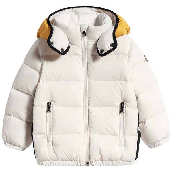 "Baby Boys & Girls White ""PEROLS"" Padded Down Coat"