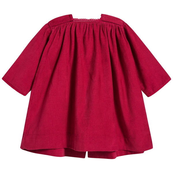 Baby Girls Tomato Cotton Dress