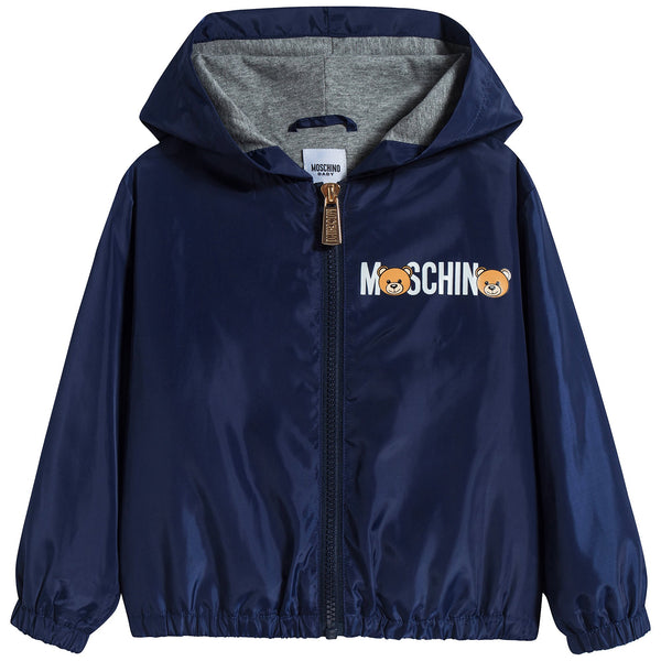 Baby Boys & Girls Blue Zip Jacket