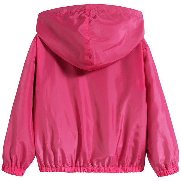 Baby Boys & Girls Fuxia Zip Jacket