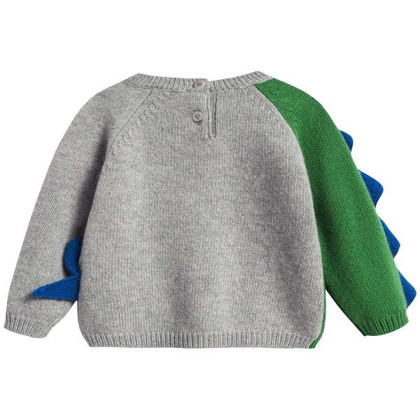 Baby Boys Green Apple Wool Sweater