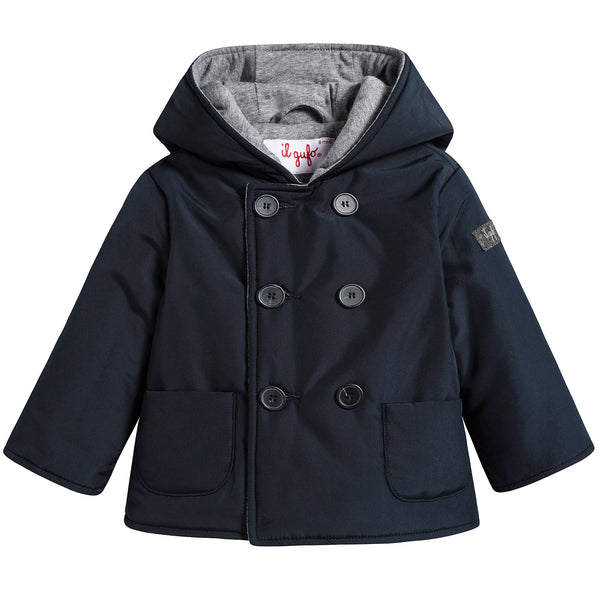 Baby Boys Navy Blue Jacket