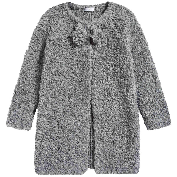Girls Cloud Grey Cardigan
