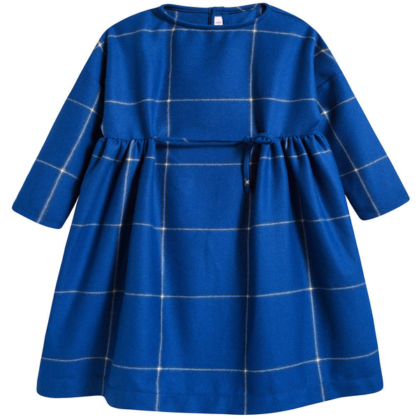 Girls Bluette Check Dress