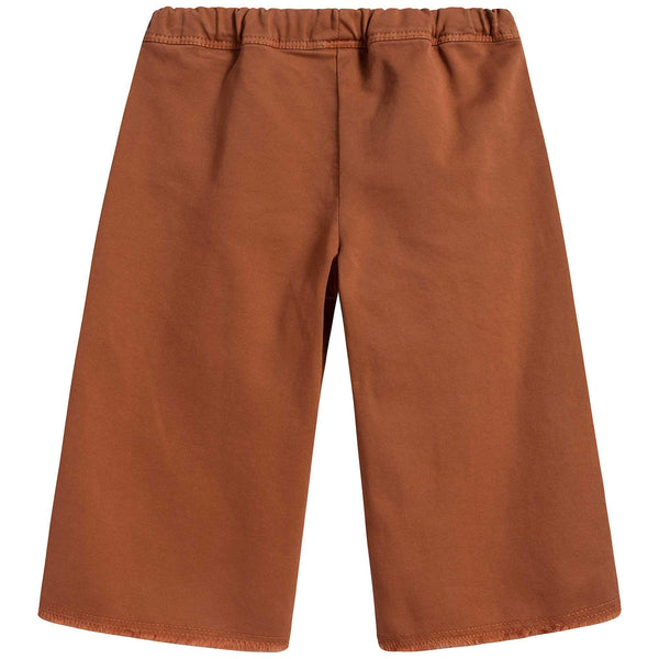 Girls Cinnamon Cotton Trousers
