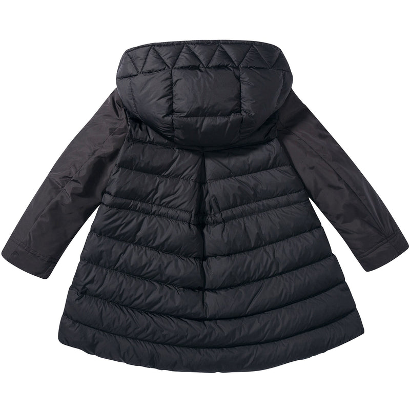 "Girls  Black  ""Cordial  Giubbotto""  Coat"