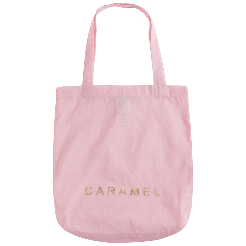 Girls Pink Logo Cotton Bag