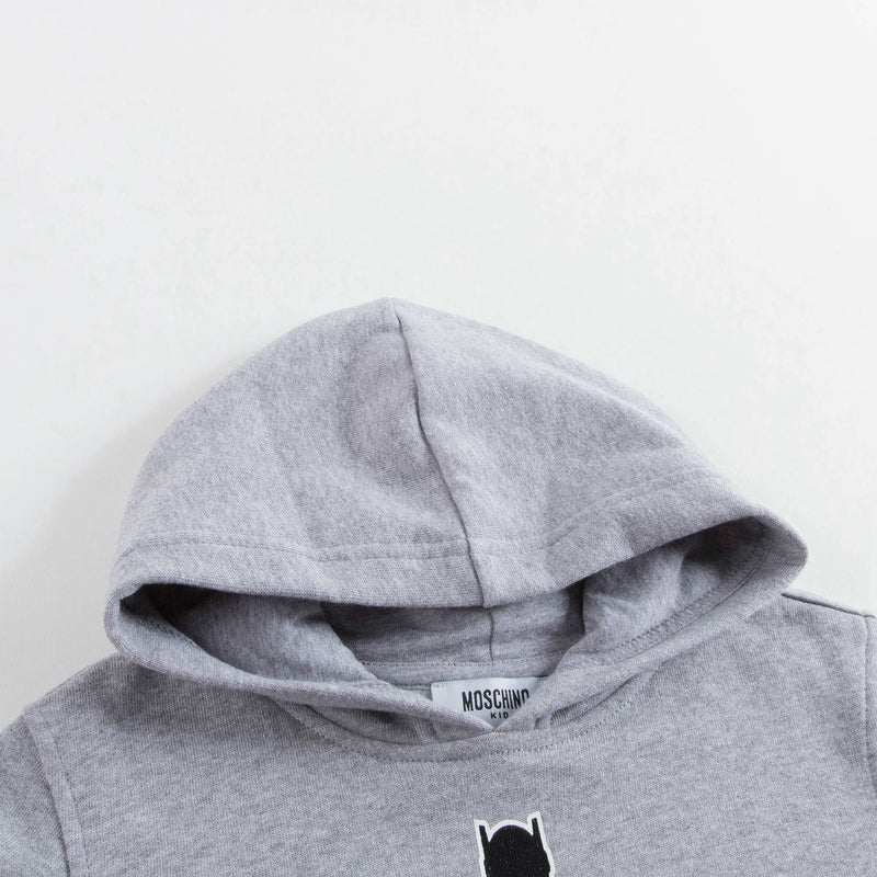 Boys & Girls Grey Logo Zip-up Top