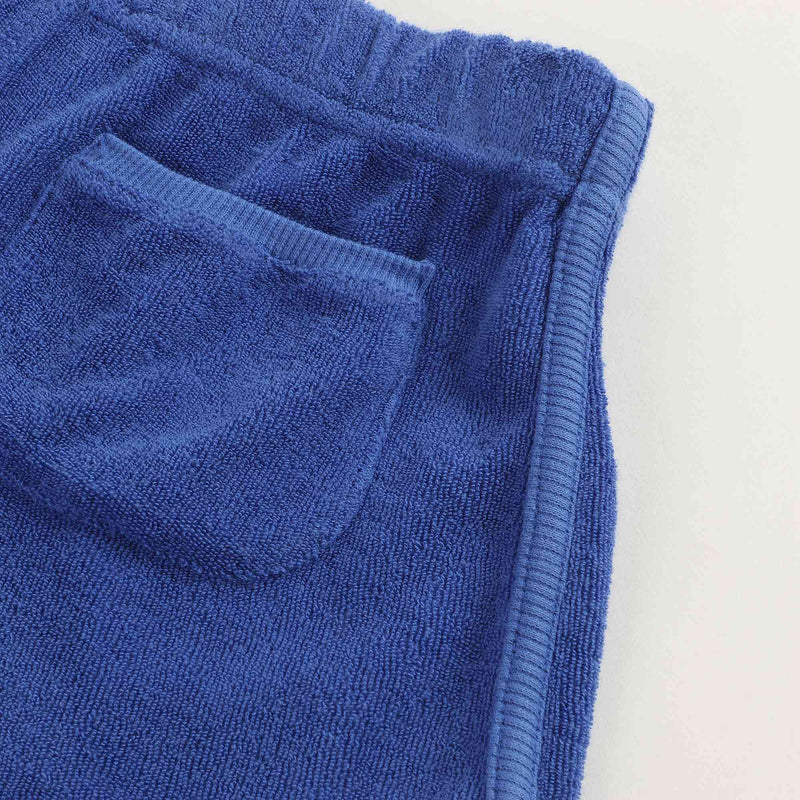 Boys and Girls Royal Blue Cotton Shorts