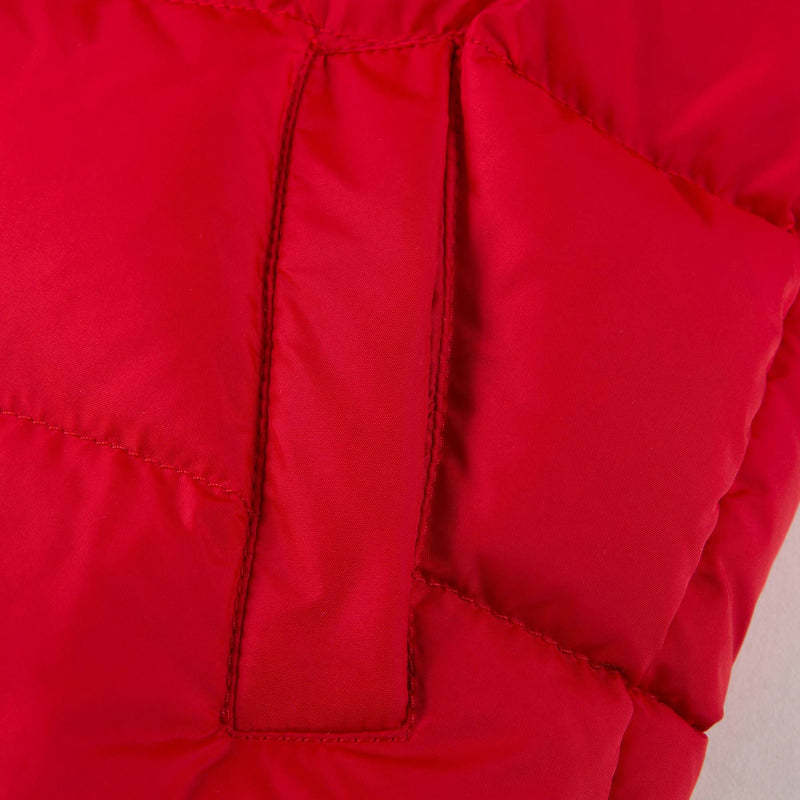 Baby Boys Red  'Bulgare' Padded Down Jacket