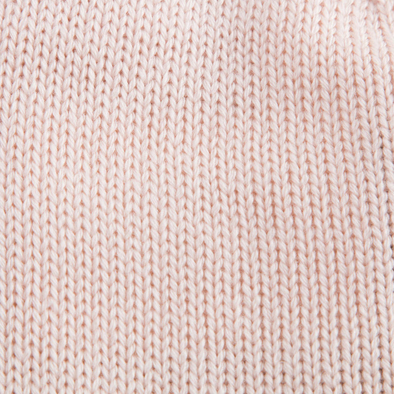 Baby Pink Knitted Hat With Ears