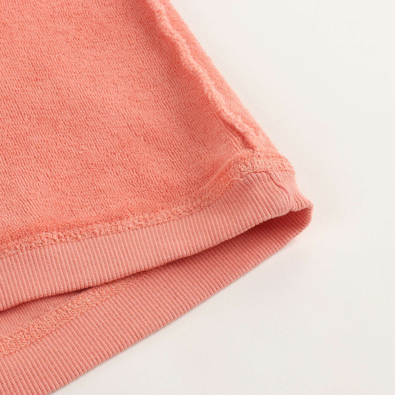 Girls Coral Cotton T-shirt